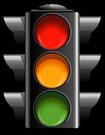 交通红绿灯卡通图片