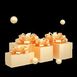 C4D节日礼盒