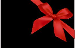 圣诞蝴蝶结角边装饰图片