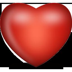 红色爱心立体图片