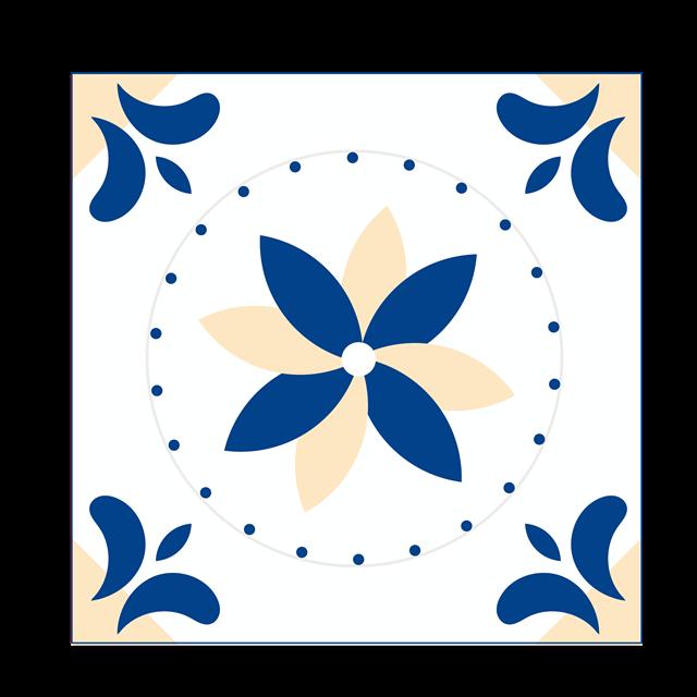 正方形边框装饰图案