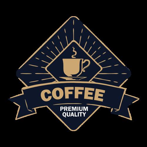 欧式风咖啡logo