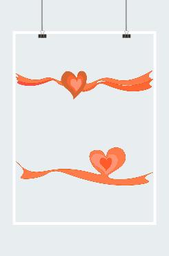 爱心丝带logo