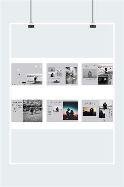 旅游纪念册排版图片