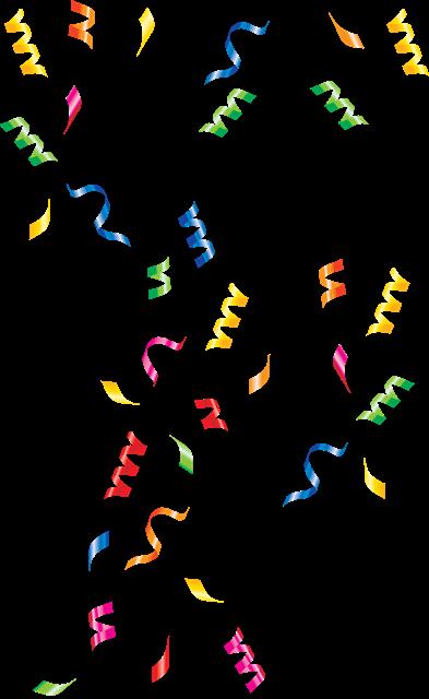 节日庆祝漂浮彩带矢量图片