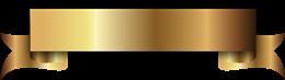 金色丝带标题框