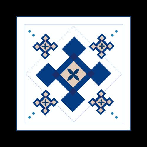 中式复古花纹装饰