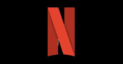 Netflix徽标3D图标