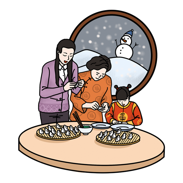 立冬煎香图片