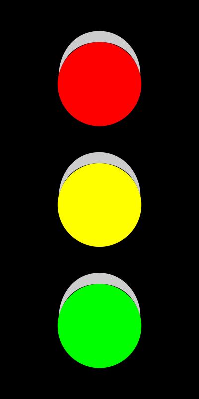 红绿灯交通标志图片