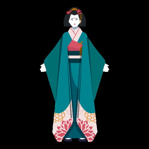 日本艺妓美女人物