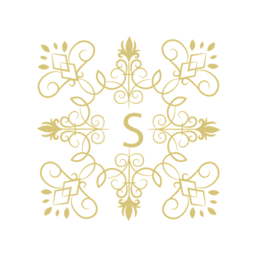 金色方形图案纹样