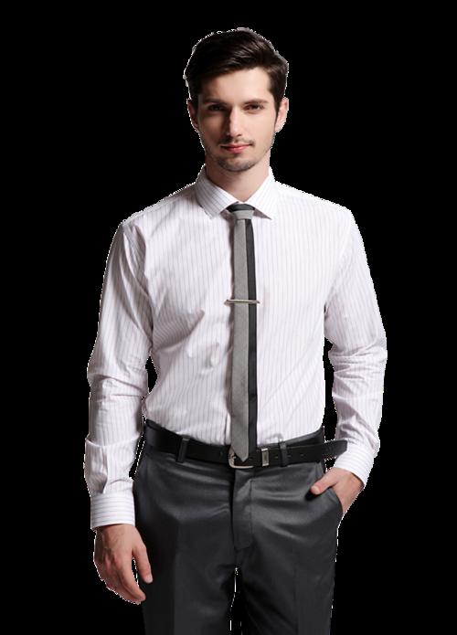 男士衬衫模特图片