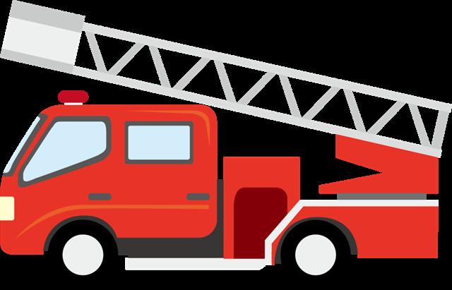 红色消防车图片