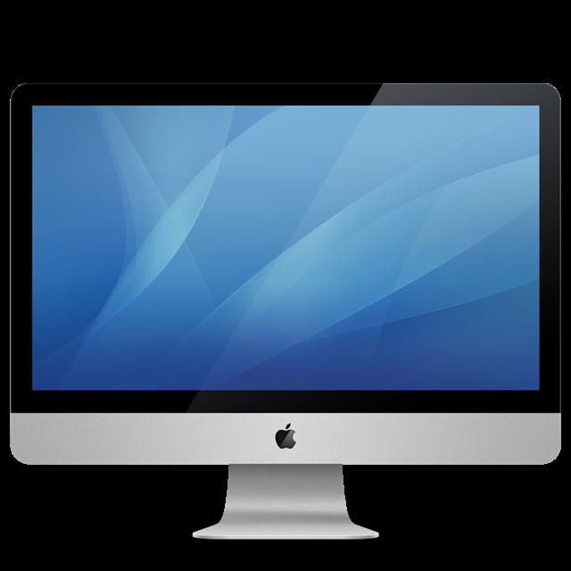 苹果台式电脑样机