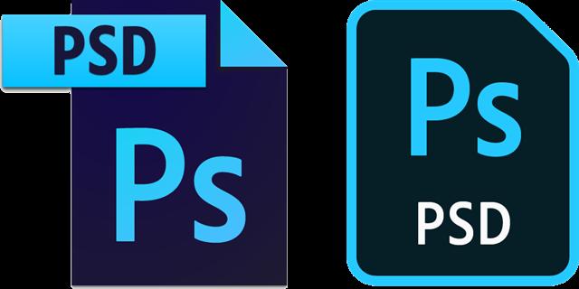 Photoshop文件图标
