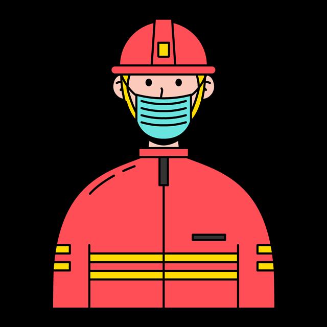 消防员卡通人物