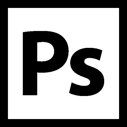 黑白Photoshop官方logo