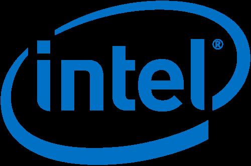 Intel新图标