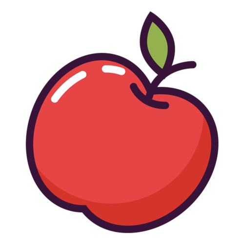 好看红苹果图片