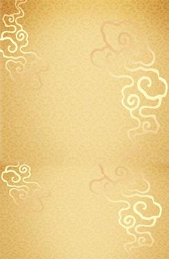 金色祥云装饰背景图