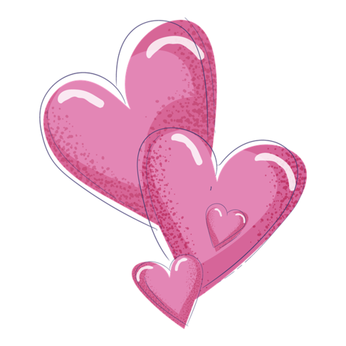 粉色浪漫心形