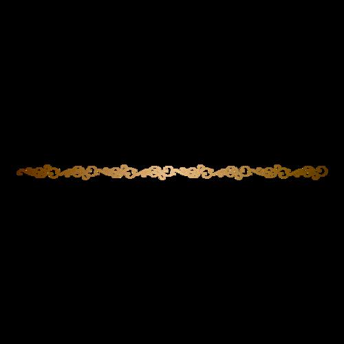 金色花纹分割线图片