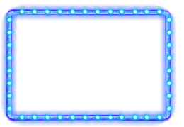 方形蓝色边框