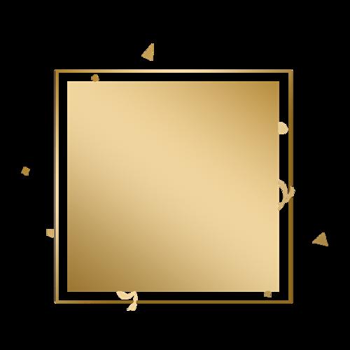 黑金边框背景