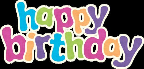 儿童生日快乐字体设计