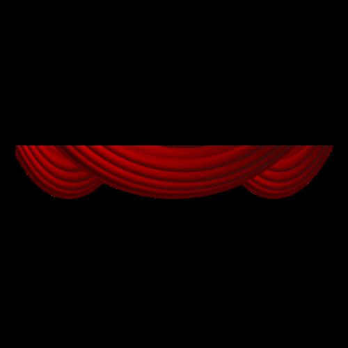 红色幕帘舞台幕布