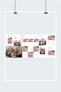 甜品店画册