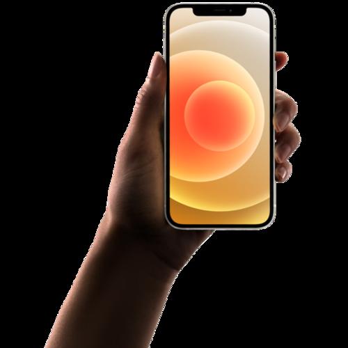 银色iPhone12手机样机
