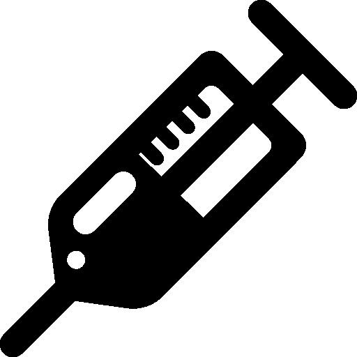 扁平化针筒图标