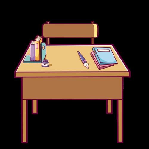 教室课桌图片