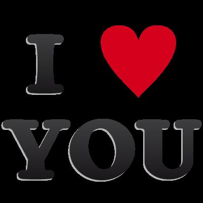 我爱你Iloveyou艺术字