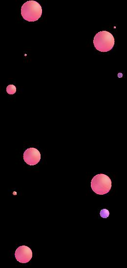 球体漂浮元素图片