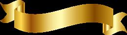 金色彩带素材