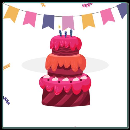 生日蛋糕图片素材