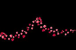 玫瑰花花瓣漂浮装饰图片