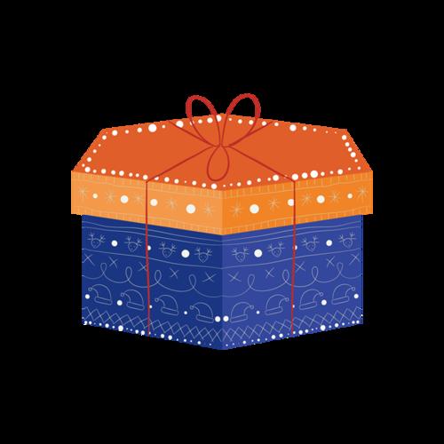精美蛋糕礼盒设计