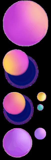 漂浮球体图片