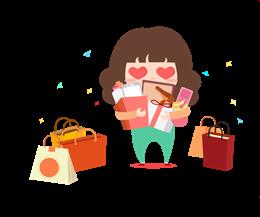 开心购物图片