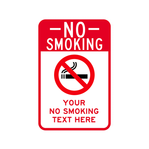 英文禁烟警示牌