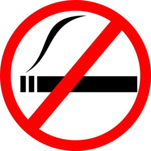 禁烟告示牌