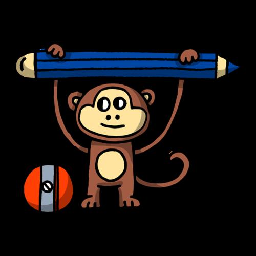 教育学习小猴子