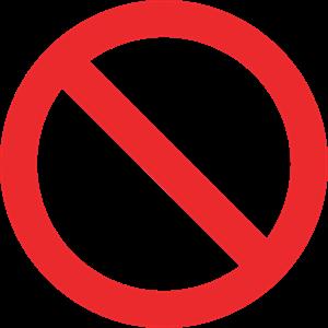 禁烟警示牌图片