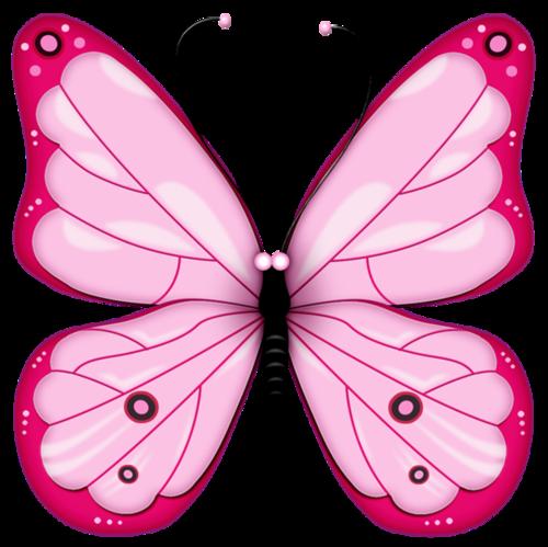 粉红色蝴蝶