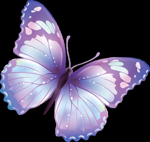 梦幻紫色蝴蝶
