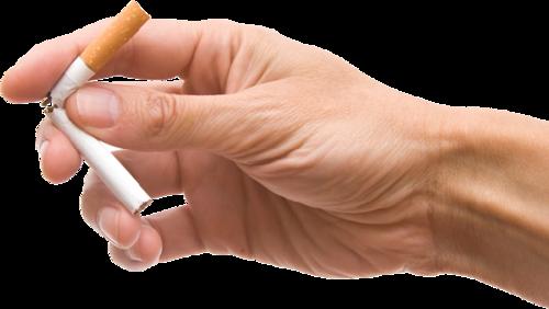 禁烟手势标志